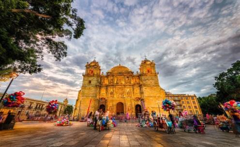 """Evening at La Catedral de Oaxaca"" © 2013 Pixamundo | Rafael Bautista www.Pixamundo.com"